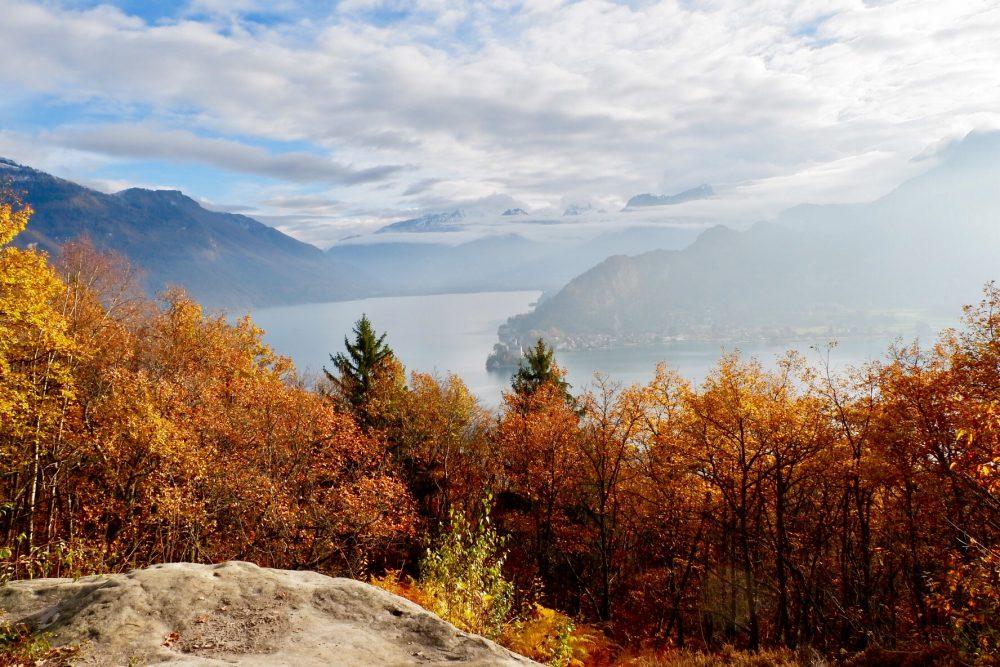 Paysages lac d'Annecy en gyropode Segway