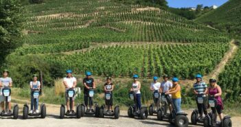 Visiter les vignobles de la vallée du Rhône en Segway