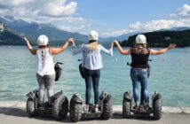 activité EVJF à Annecy : faire du segway