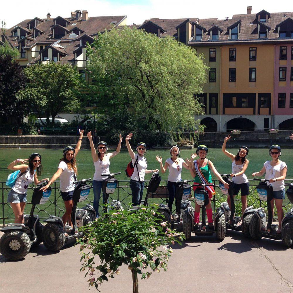 EVJF à Annecy : balade en gyropode Segway