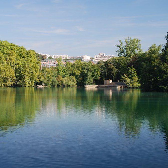 Visiter la Vallée Du Rhône : parc de la tête d'Or à Lyon