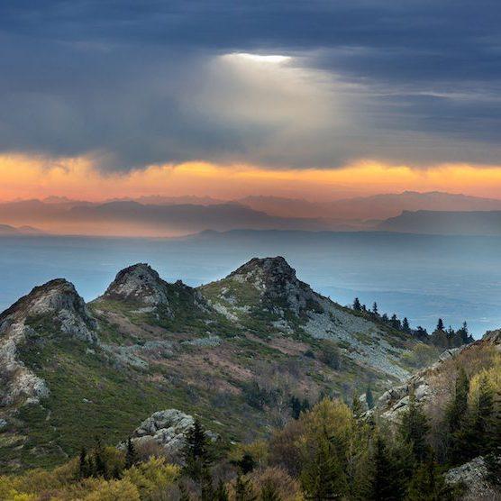 Parc naturel du Pilat : paysages et activités