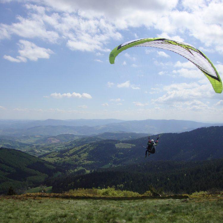 Saut en parachute au Mont Pilat : Vallée Du Rhône