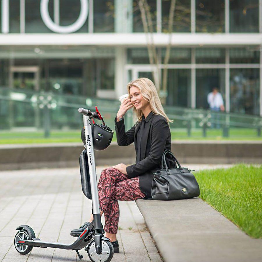 Trottinette électrique Ninebot idéale en ville