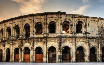 grands jeux romains Nîmes : arène nimes