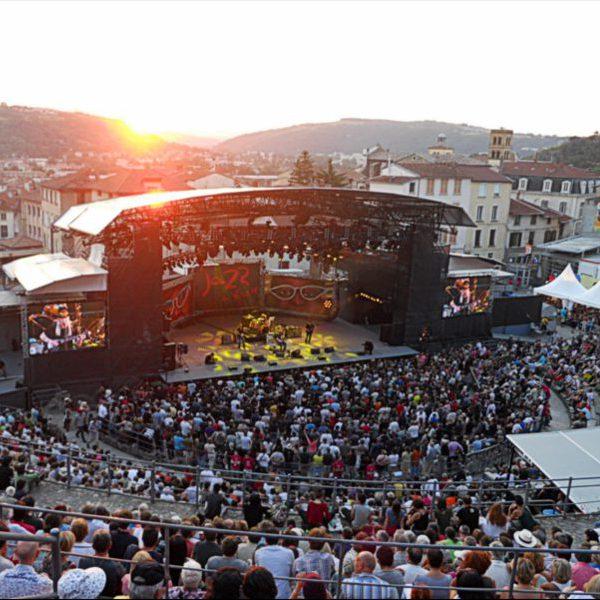 Festival Jazz à Vienne : activité soirée