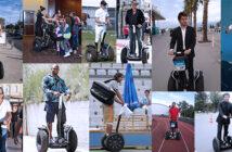 50 celebrities on their Segway PT : people