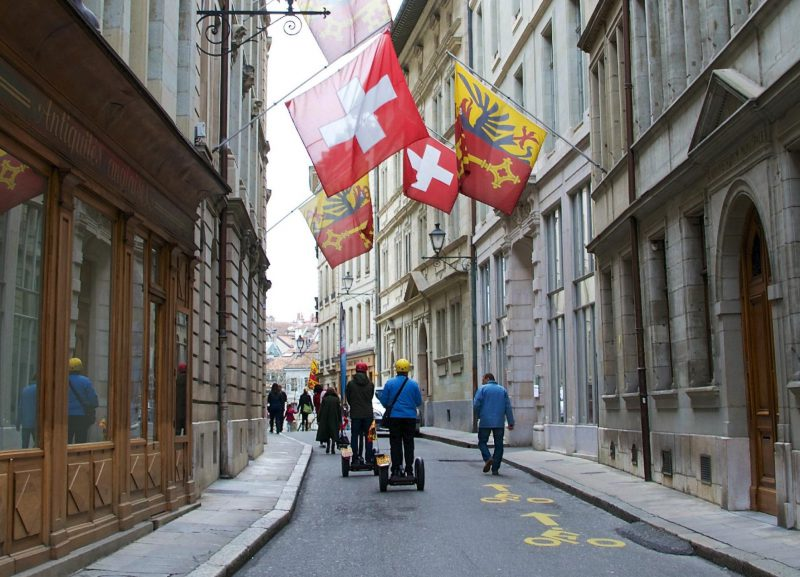 Flâner en Segway dans le charme des ruelles Suisse
