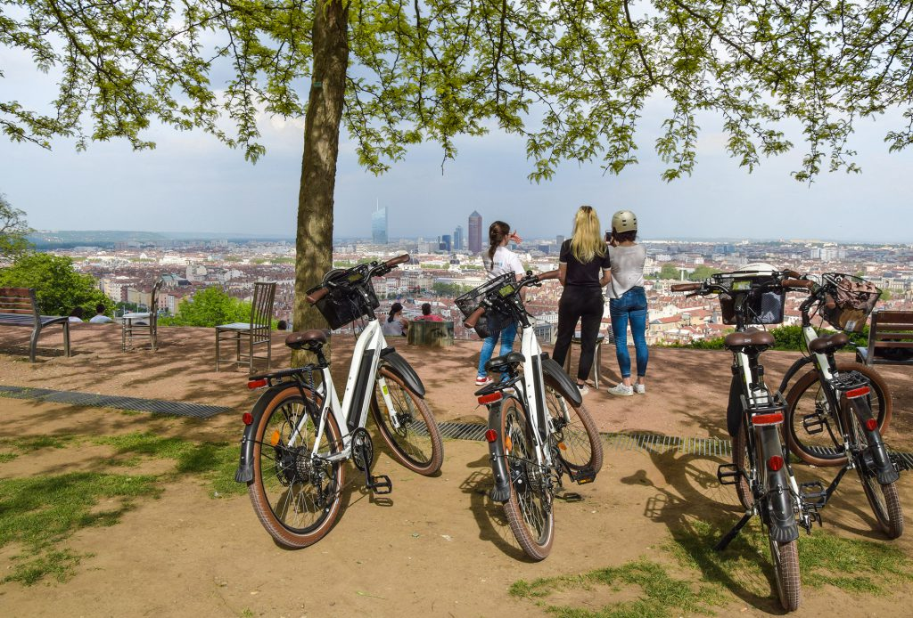 Visite guidée de lyon à VAE (vélo électrique)