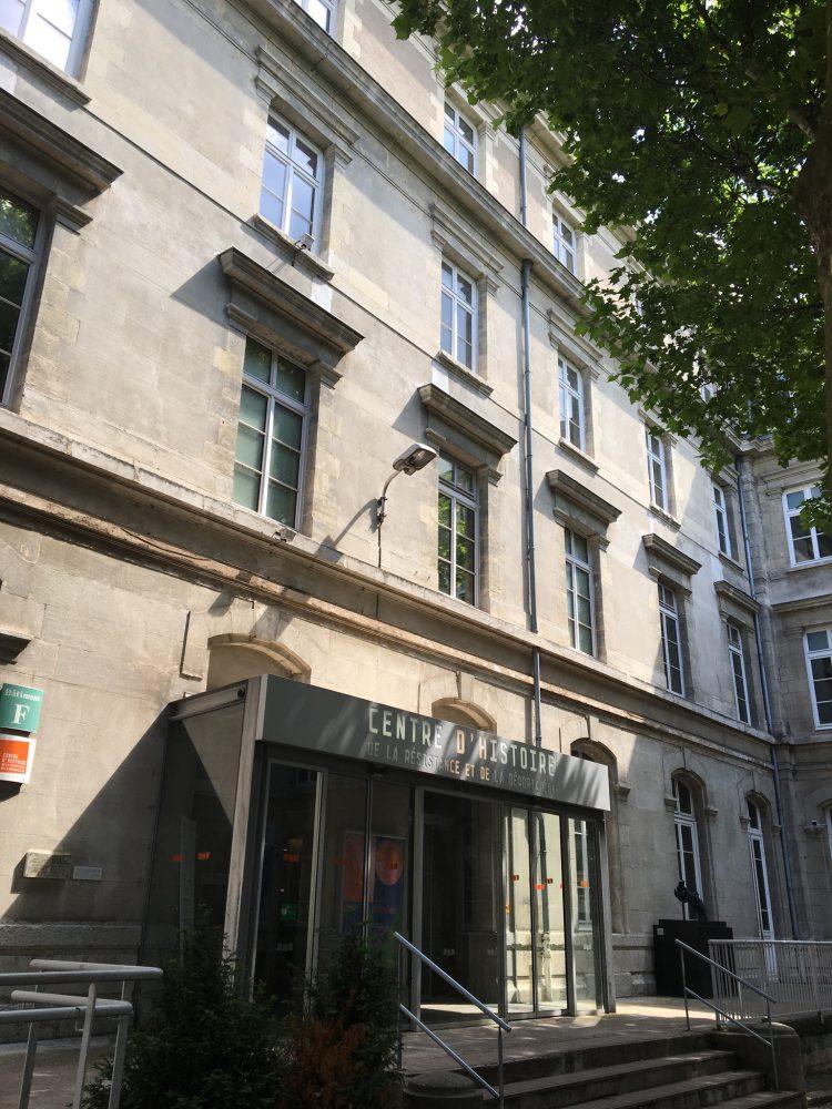 Le centre histoire résistance et déportation à Lyon