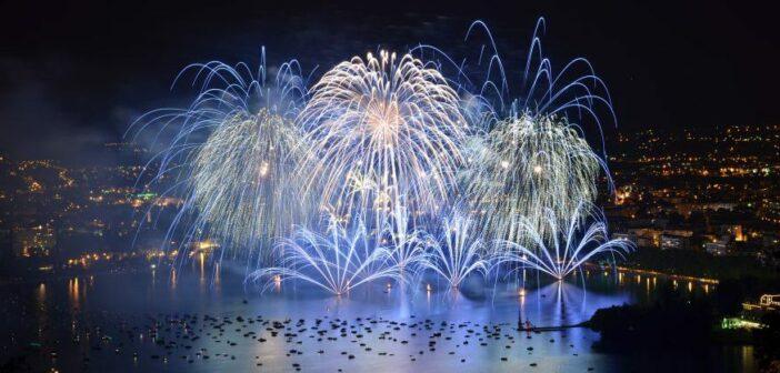La Fête du Lac d'Annecy, spectacle pyrotechnique