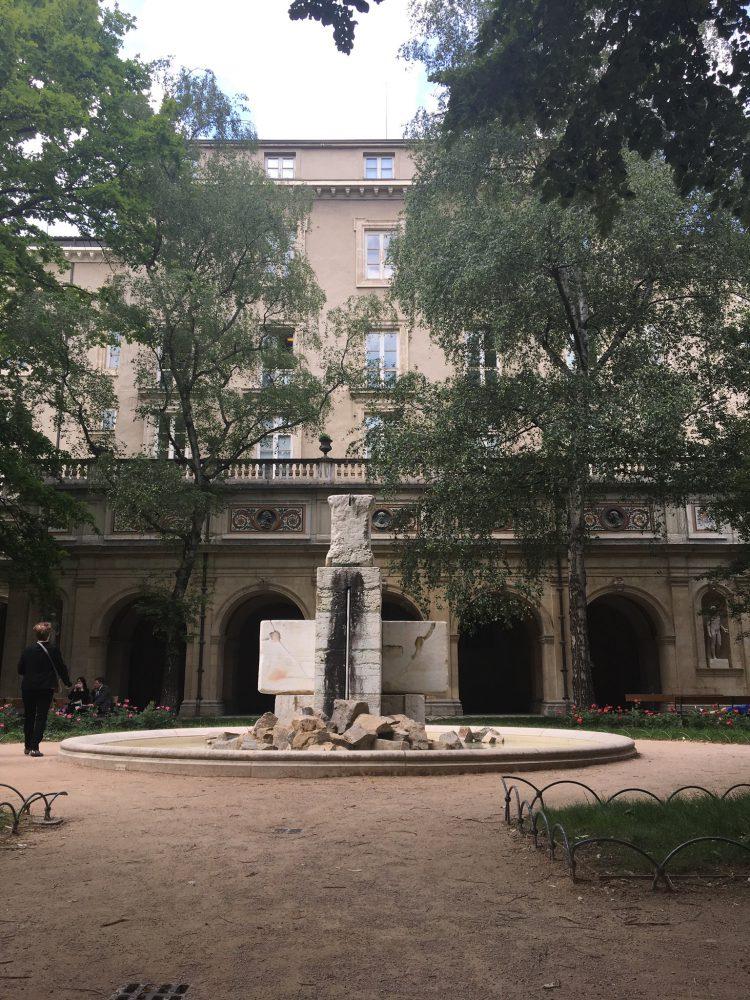 Le musée des beaux arts à Lyon