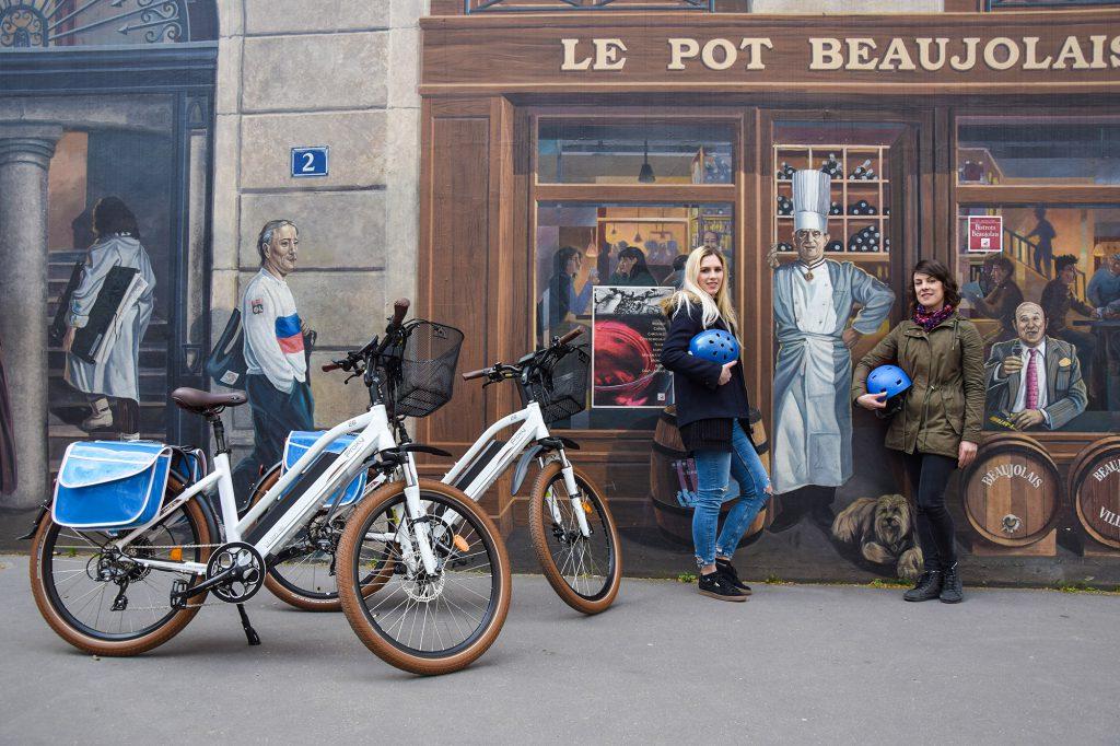 Visiter lyon à vélo électrique : les murs peints