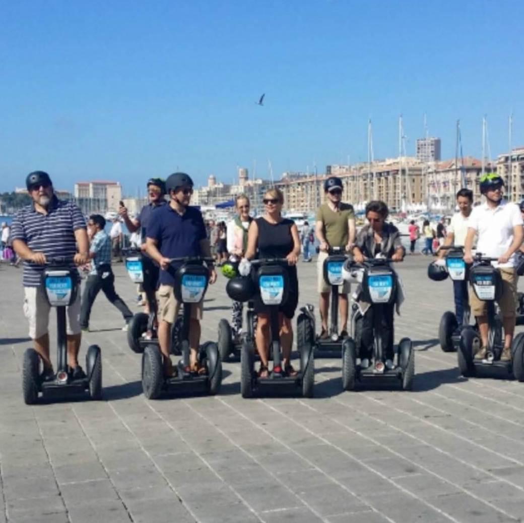 Visiter Marseille à Segway, une activité idéale en été