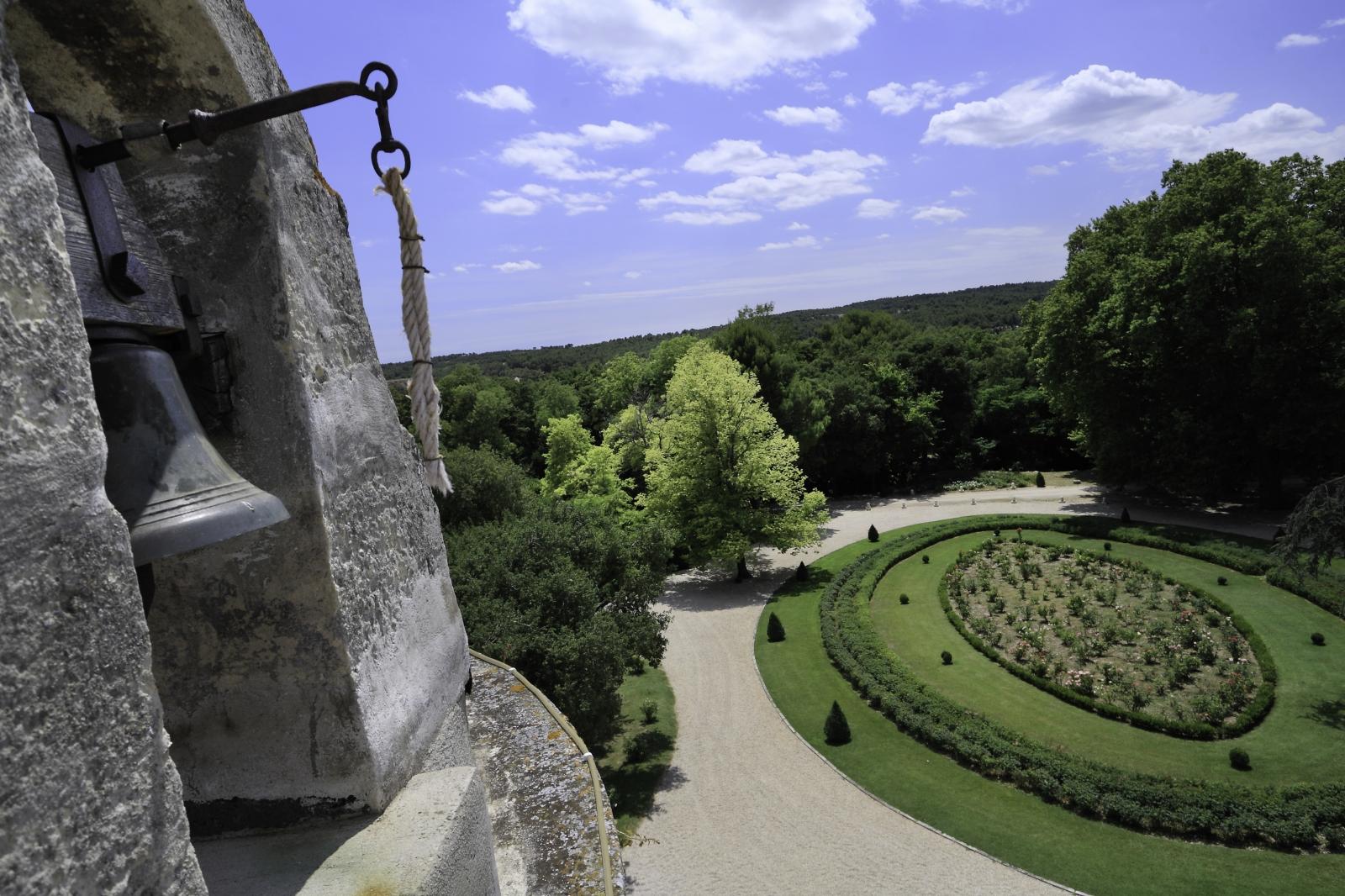 Les jardins du Château de l'Estoublon