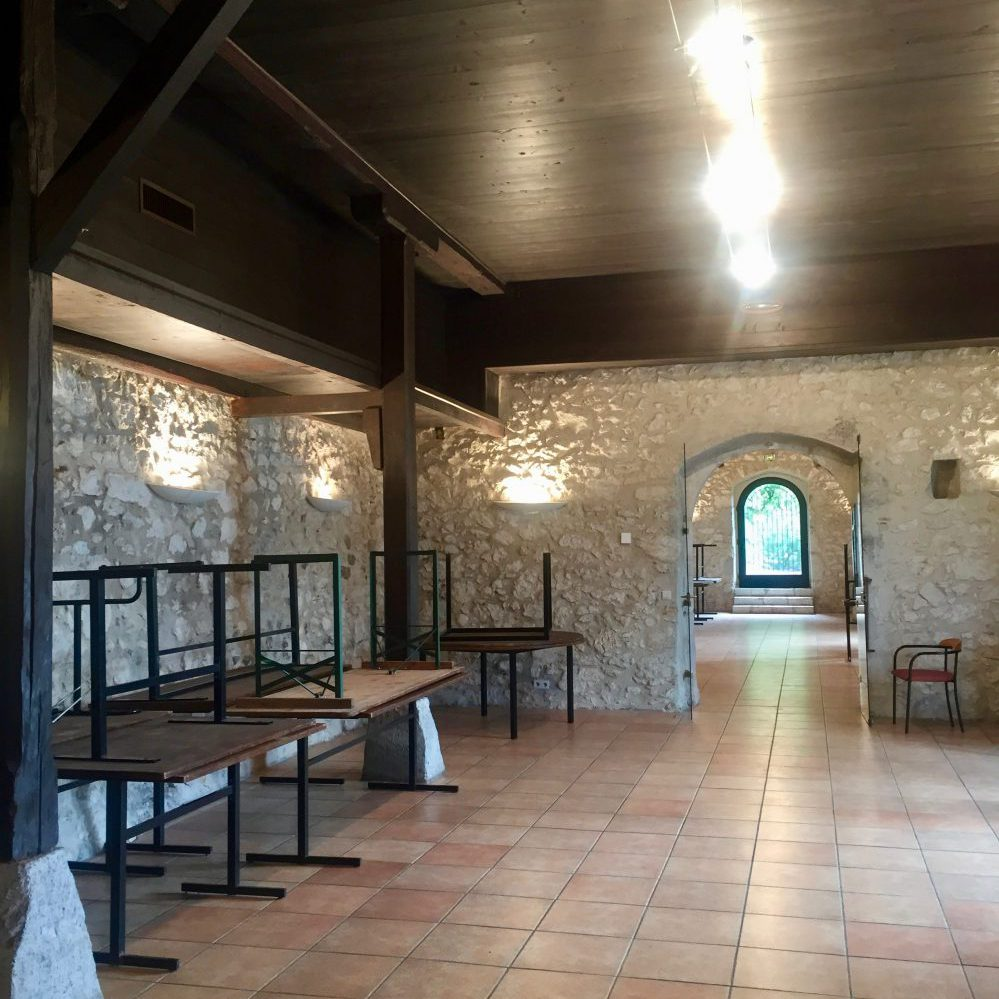L'intérieur du Château Menthon à Annecy