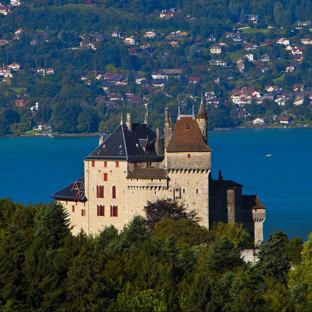 Le Château Menthon à Annecy