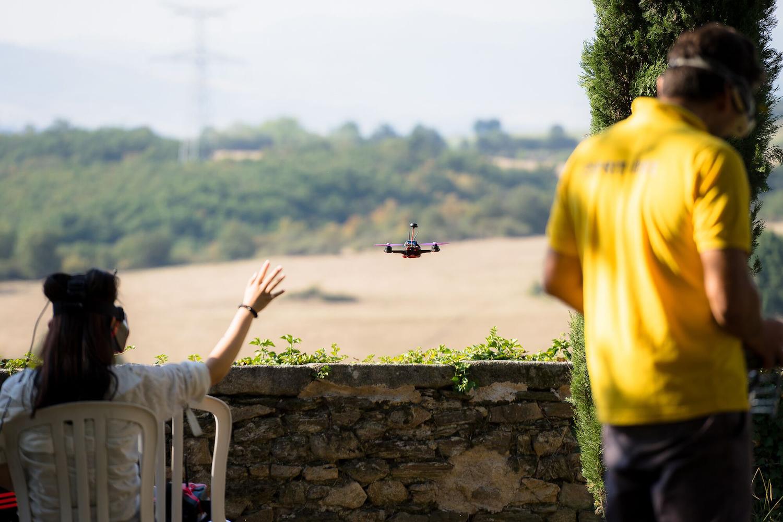 Activité drone immersion