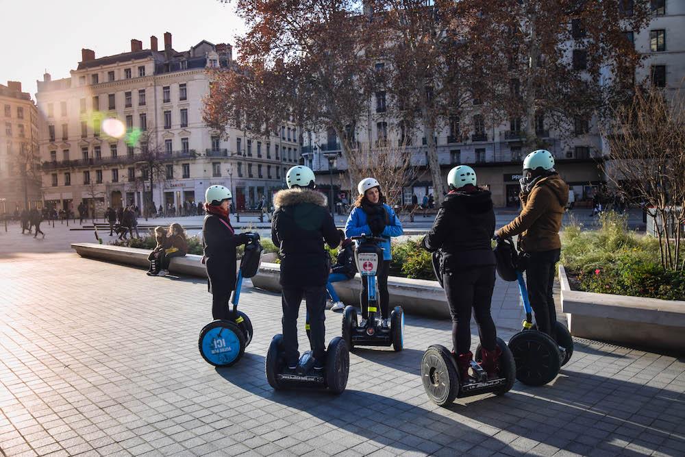 Segway à Lyon Place République