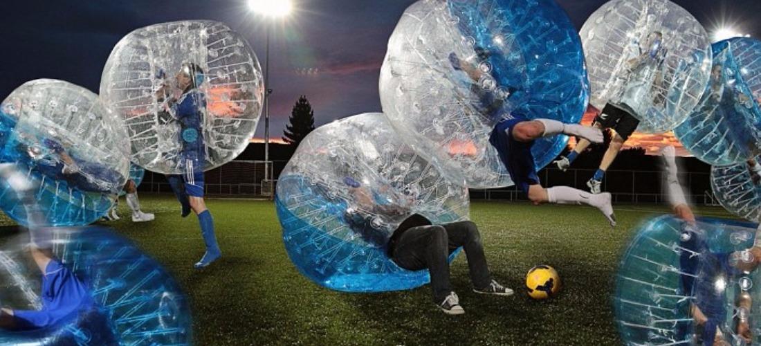 EVG à Montpellier bubble foot