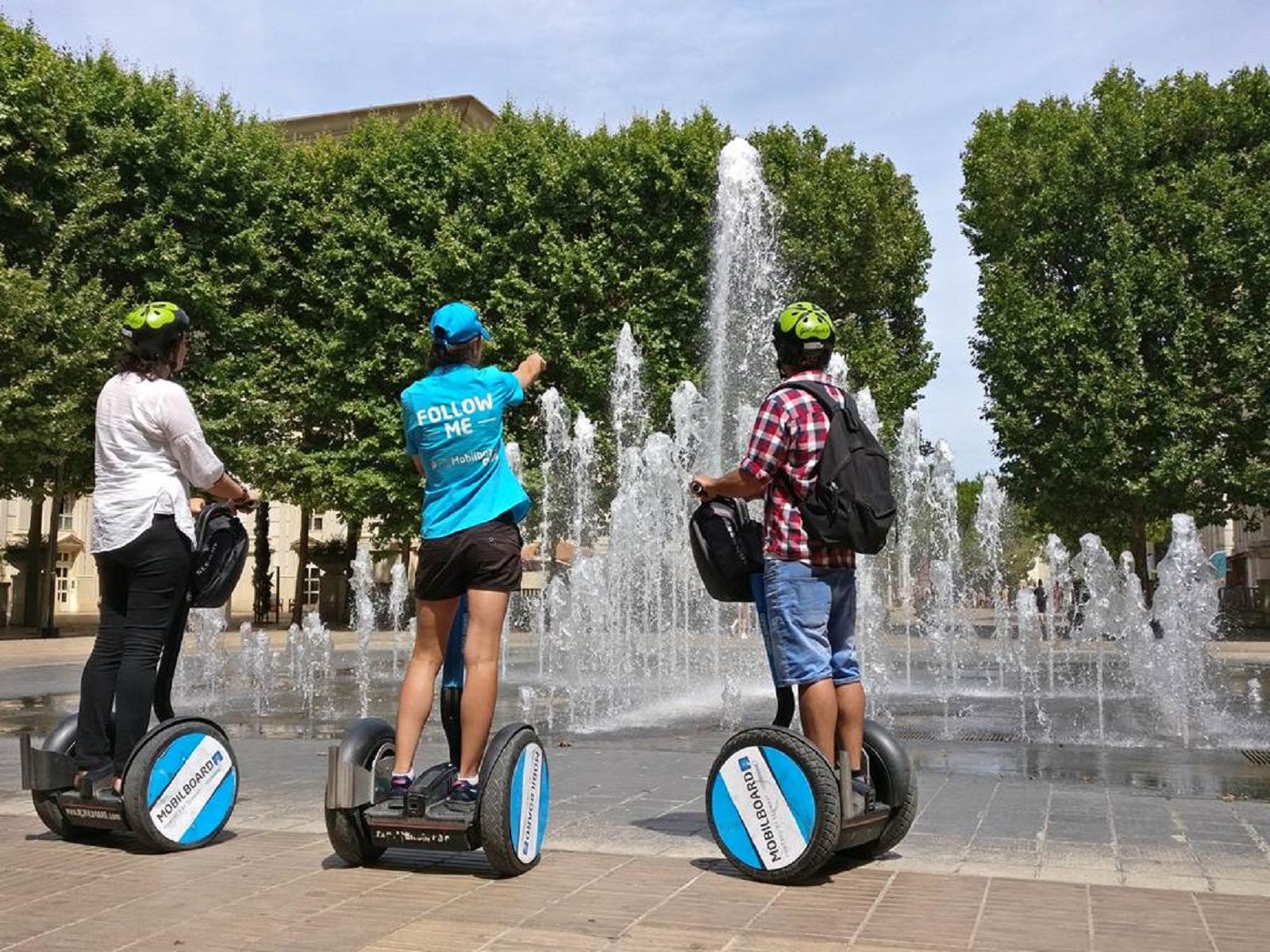 Balade en Segway à Montpellier