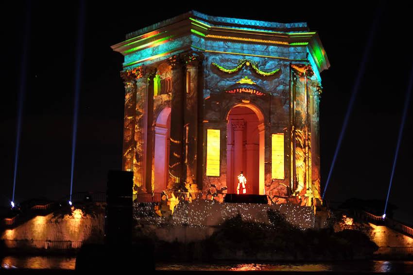 Coeur de ville en lumière à Montpellier