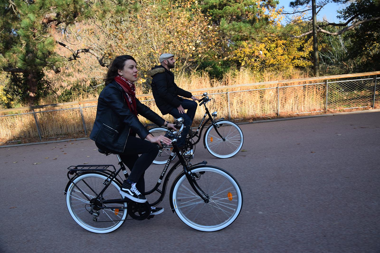 Balade en vélo vintage à Lyon