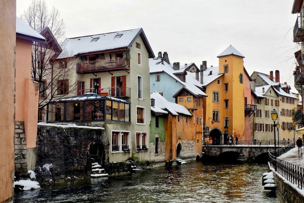 Hébergements: séjour ou week-end à Annecy et Haute-Savoie