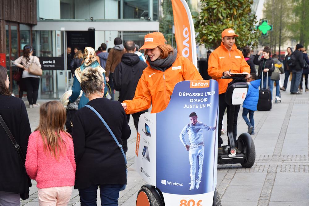 Street marketing à Lyon : lancement de produit