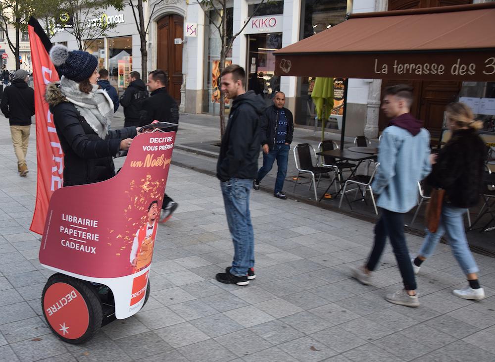 Street marketing à Lyon