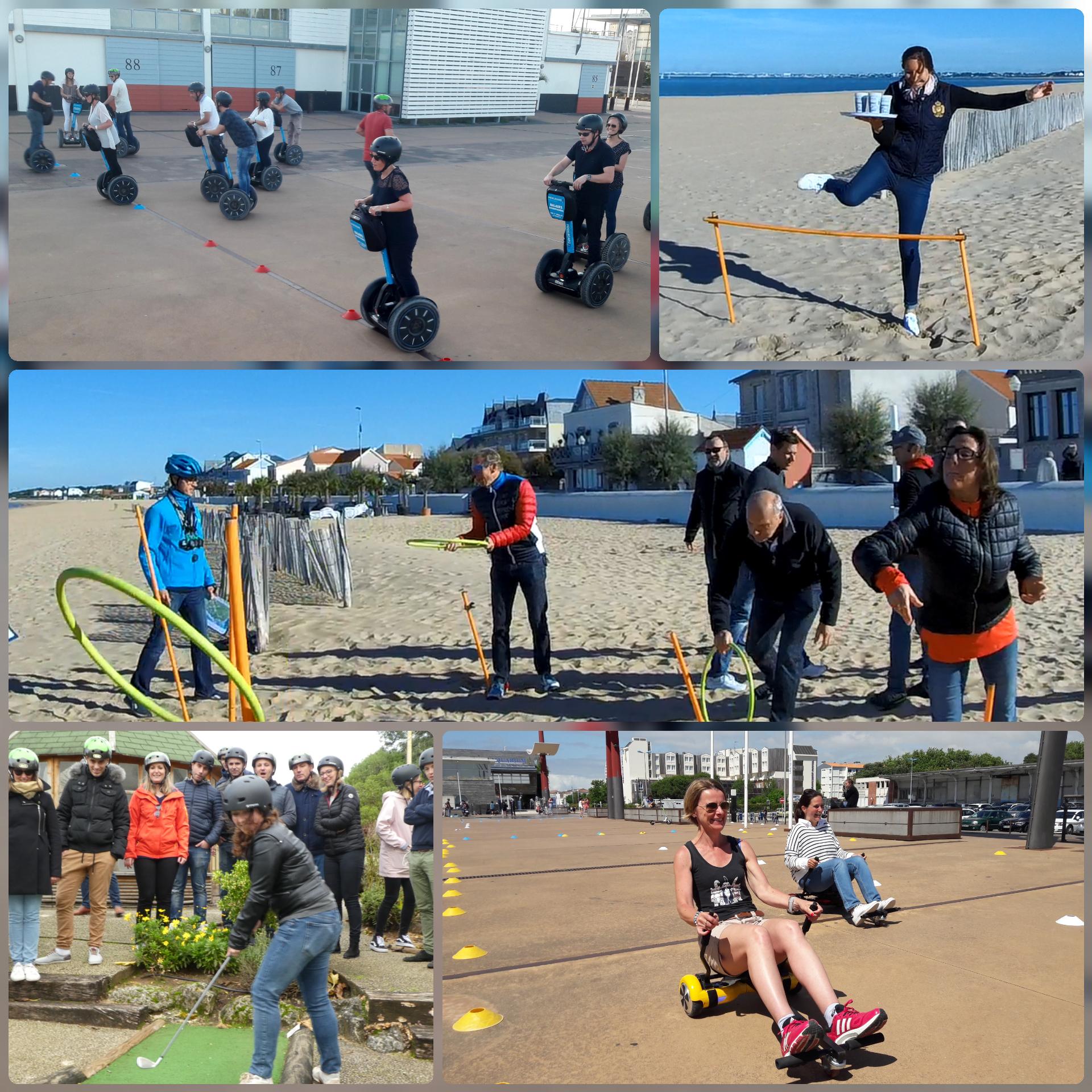 Activité de groupe à La Rochelle : green games