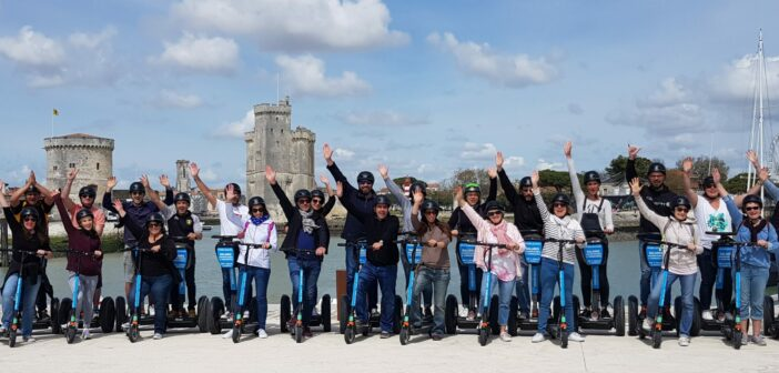 Activité de groupe à La Rochelle