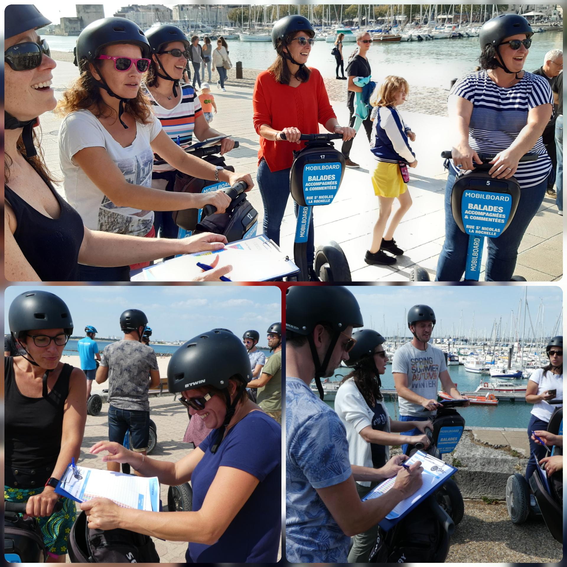 Activité de groupe à La Rochelle : e green pursuit