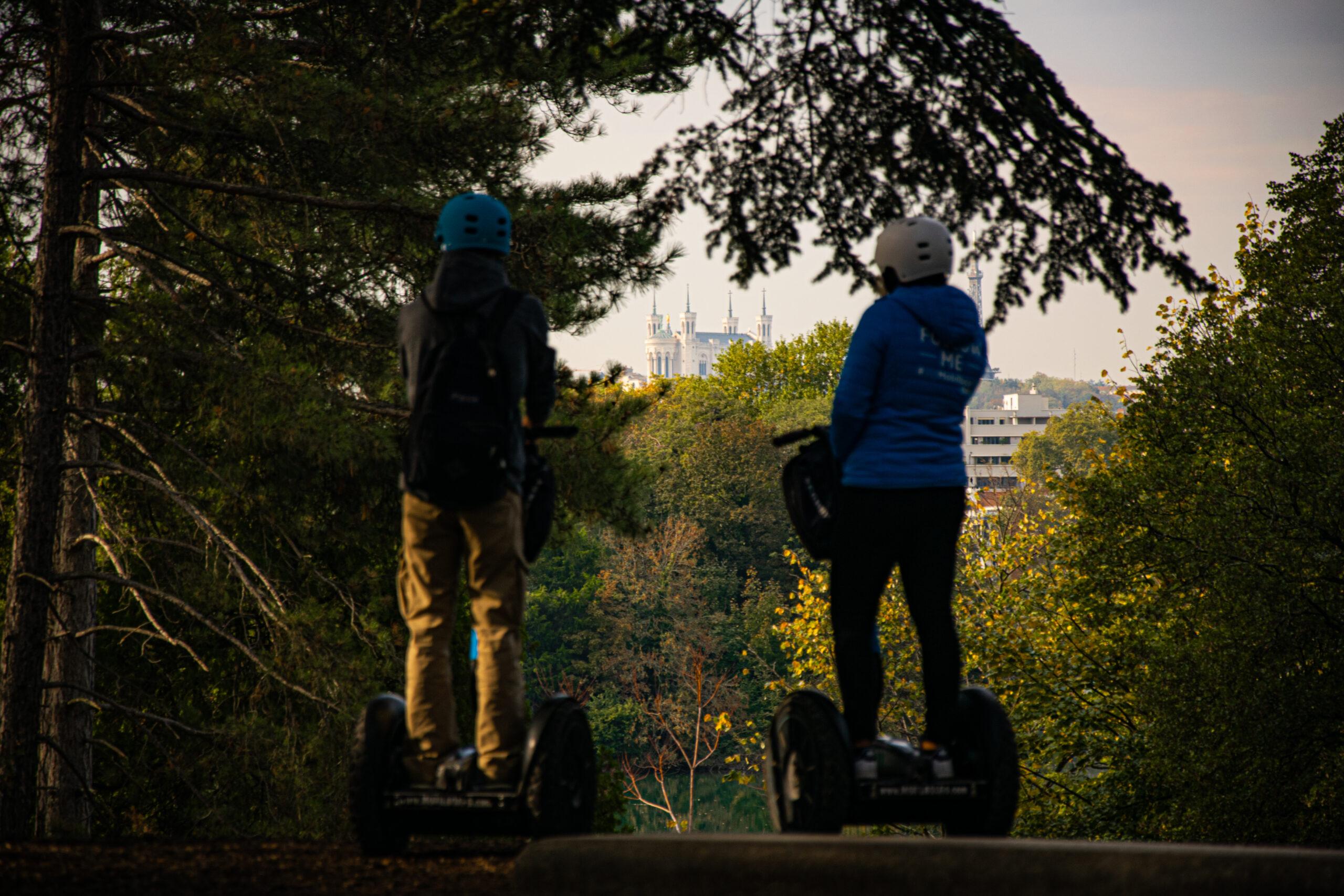 Balade rn Segway au Parc de la Tête d'Or