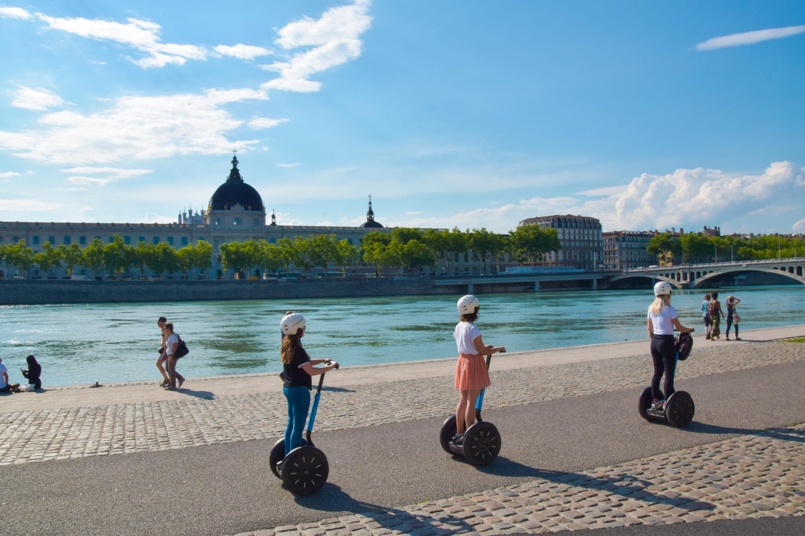 Visite guidée de Lyon en gyropode Segway