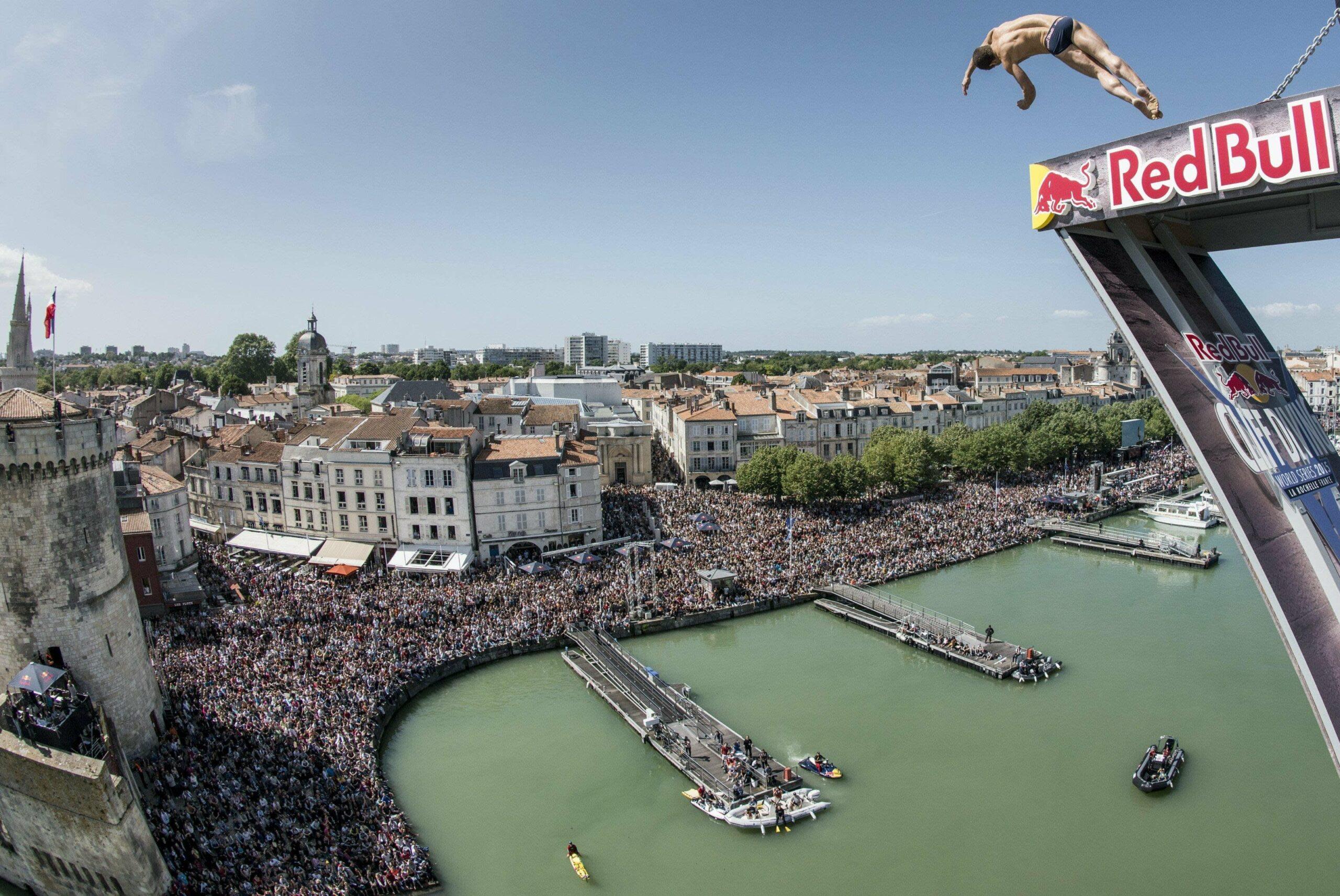 Red Bull Cliff Diving à La Rochelle