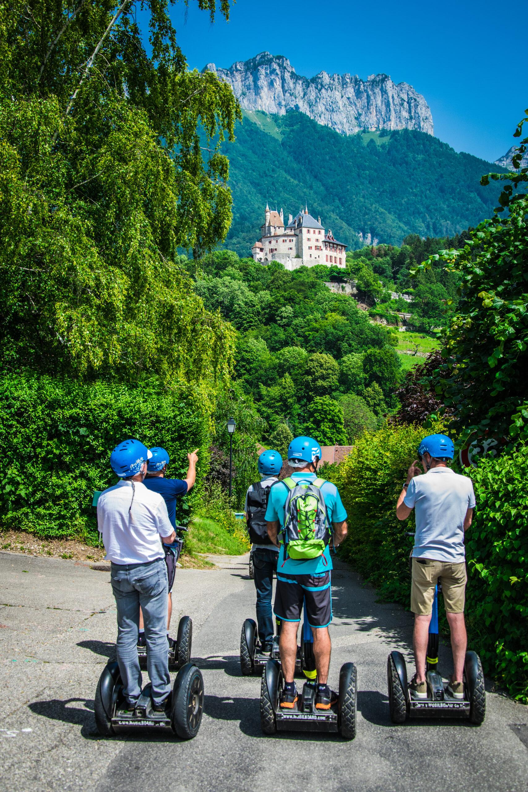 Groupe Segway en Haute-Savoie