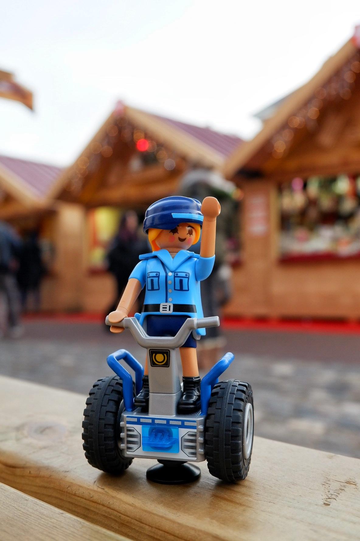 Playmobile Segway en Haute-Savoie