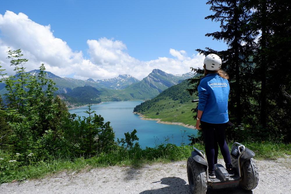 Vue panoramique Segway en Haute-Savoie