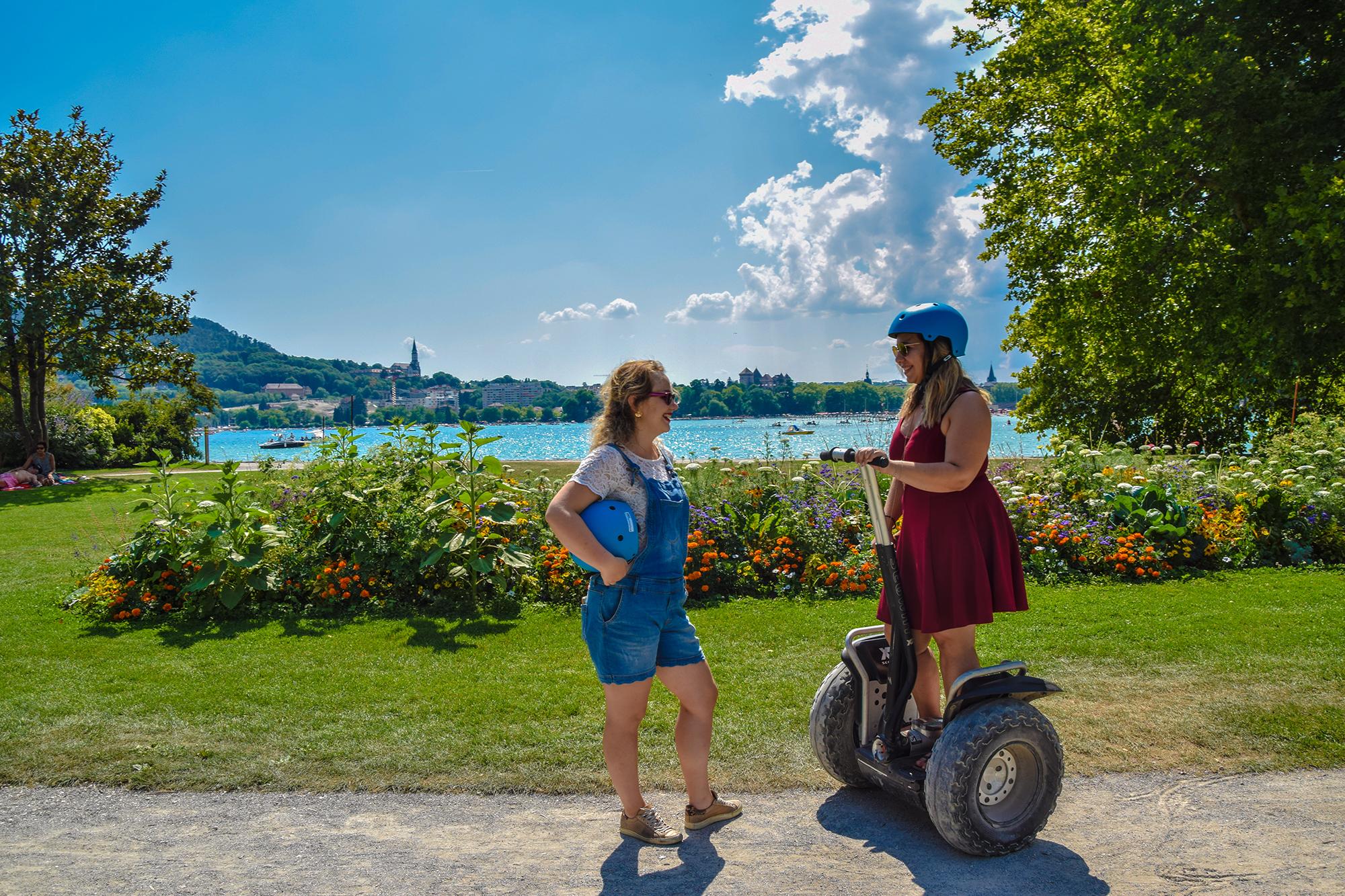 Segway en été en Haute-Savoie avec Mobilboard