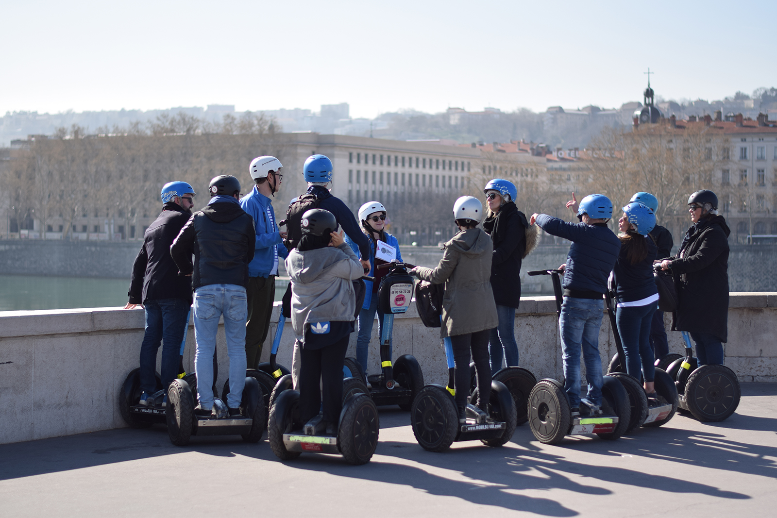 Escape game à Lyon en gyropode Segway
