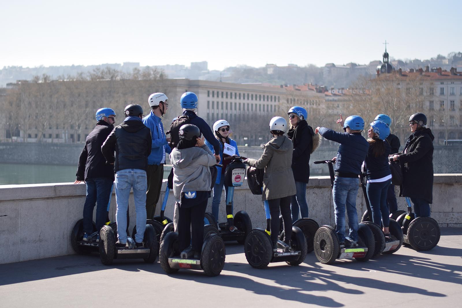 Escape game à Lyon en gyropode Segway
