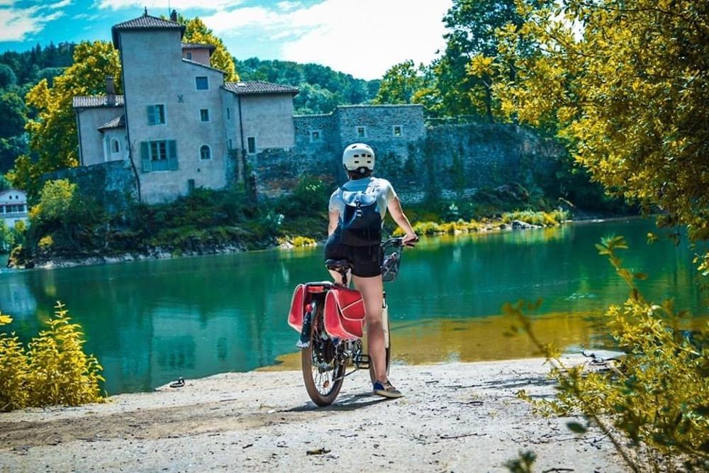 Activité outdoor à Lyon : vélo Saone voie bleue