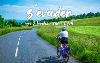 Balade à vélo électrique lyon