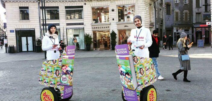 street marketing Nantes