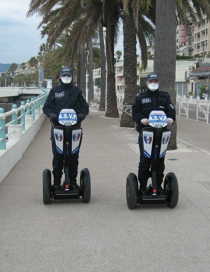 Segway police cannes