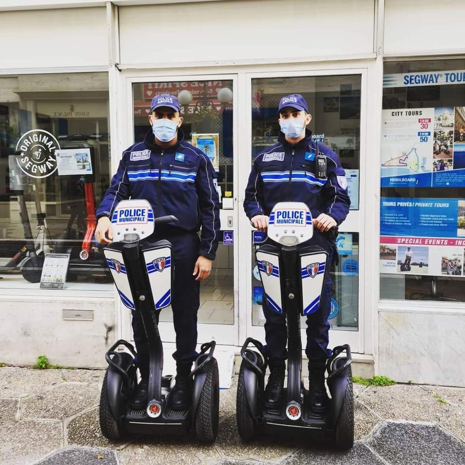 police municipale segway