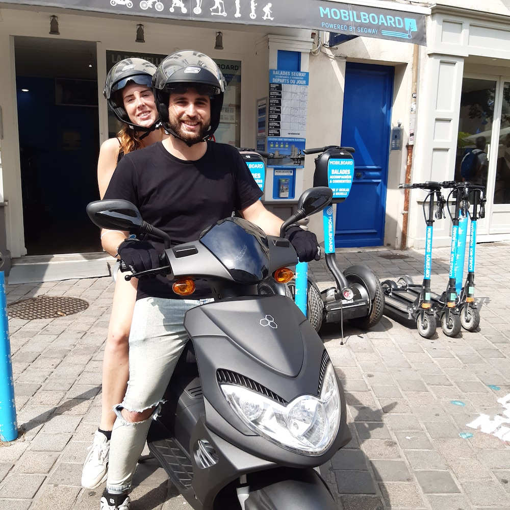 scooter électrique la rochelle