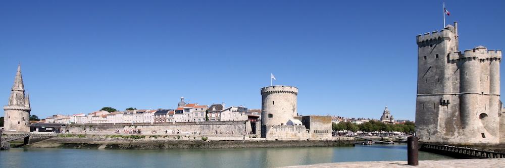 @crédit photo Mobilboard La Rochelle Les tours emblématiques de La Rochelle