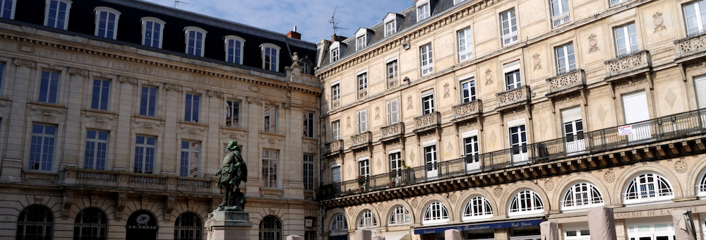 La place de l'Hôtele de Ville